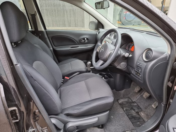 2011 Nissan Micra Ti K13 Purple