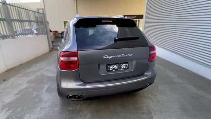 2008 Porsche Cayenne Turbo 9PA MY08 4X4 Constant Grey