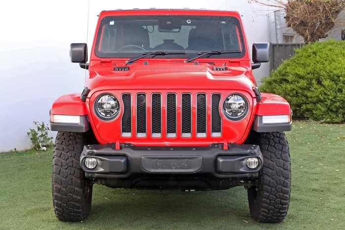 2020 Jeep Wrangler Unlimited Rubicon JL MY20 4X4 Dual Range Red