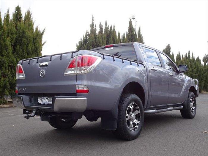 2014 Mazda BT-50 GT UP 4X4 Dual Range Grey