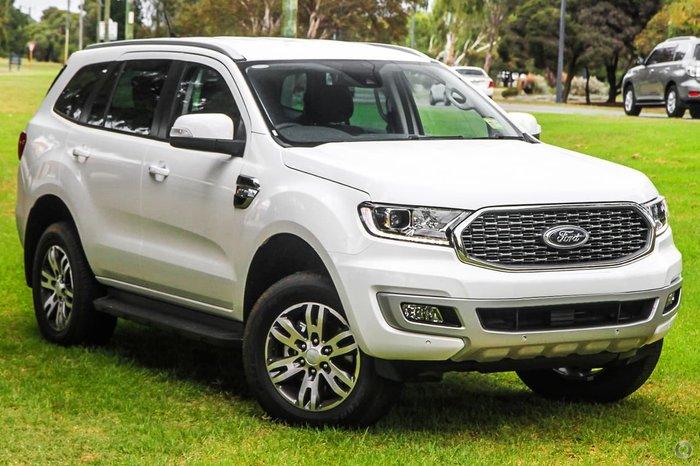 2021 Ford Everest Trend UA II MY21.25 4X4 Dual Range White