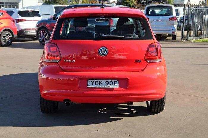 2014 Volkswagen Polo 66TSI Trendline 6R MY15 Red