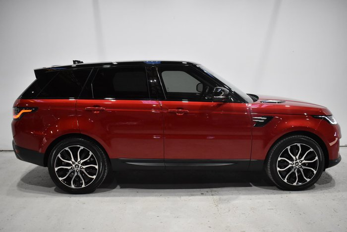 2018 Land Rover Range Rover Sport SDV6 183kW SE L494 MY19 4X4 Constant Firenze Red