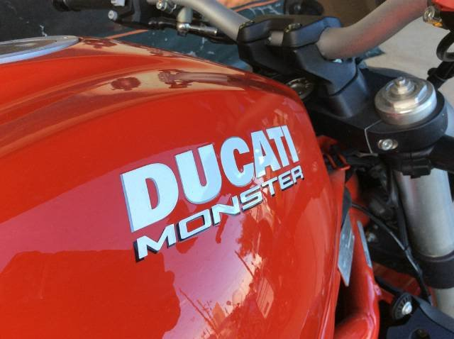 2017 DUCATI MONSTER 1200 ABS ROAD RED