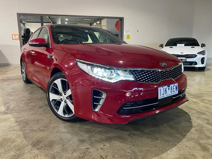 2017 Kia Optima GT JF MY18 Red