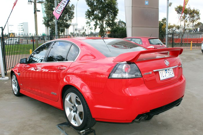 2009 Holden Commodore SS V Special Edition VE MY10 Red