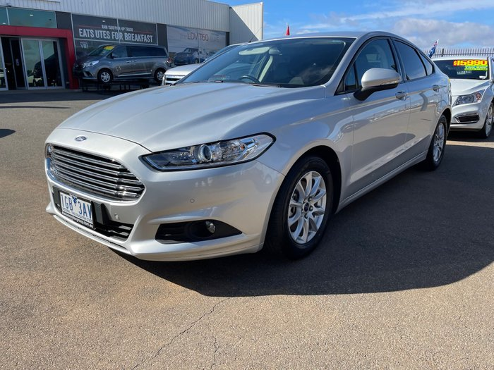 2015 Ford Mondeo Ambiente MD Moondust Silver