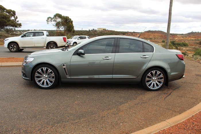2013 Holden Calais V VF MY14 Prussian Steel