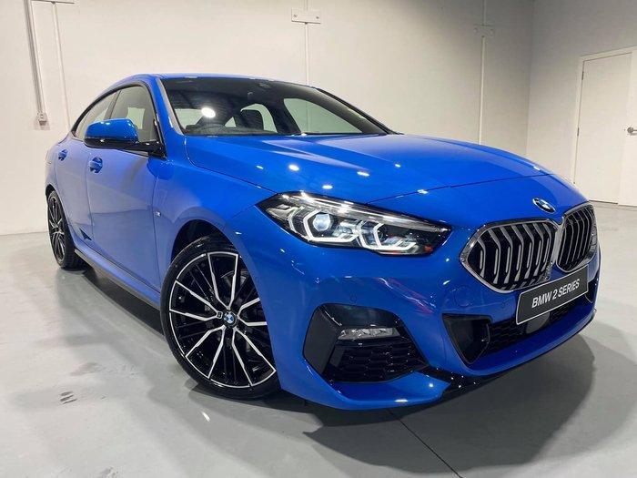 2021 BMW 2 Series 218i M Sport F44 Blue