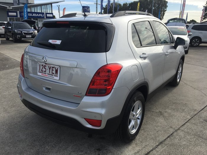 2017 Holden Trax LS TJ MY17 Nitrate Silver