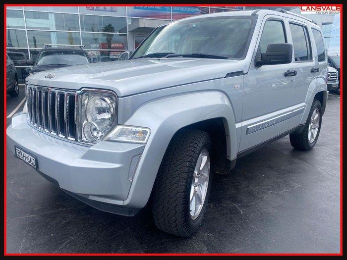 2008 Jeep Cherokee Limited KK MY08 Silver