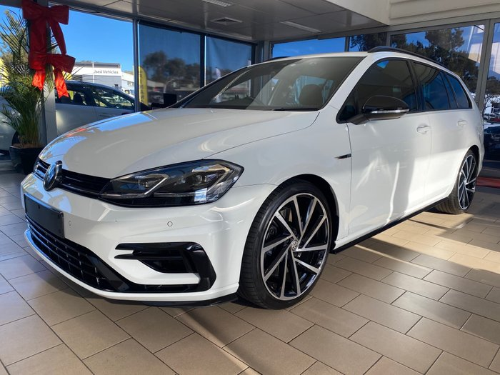 2018 Volkswagen Golf R Grid Edition 7.5 MY18 Four Wheel Drive Pure White