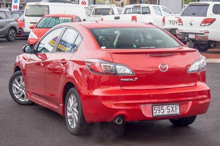 2013 Mazda 3 Maxx Sport BL Series 2 MY13 Red
