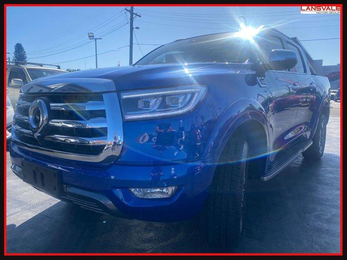 2021 GWM Ute Cannon-L NPW MY20 Blue