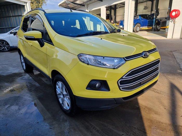 2014 Ford EcoSport Titanium BK Yellow