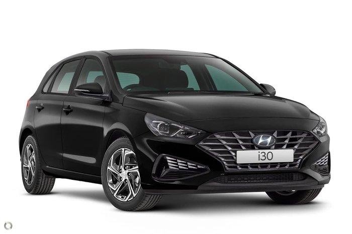 2021 Hyundai i30 PD.V4 MY21 Phantom Black