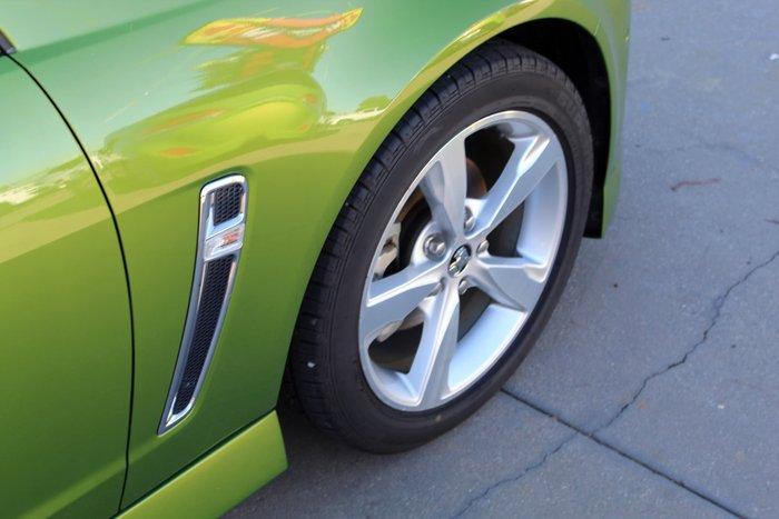 2015 Holden Commodore SV6 VF Series II MY16 Jungle Green