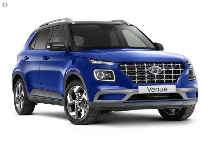 2021 Hyundai Venue Elite QX.V3 MY21 Intense Blue