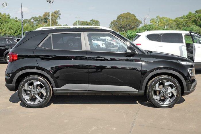 2021 Hyundai Venue Elite QX.V3 MY21 Phantom Black
