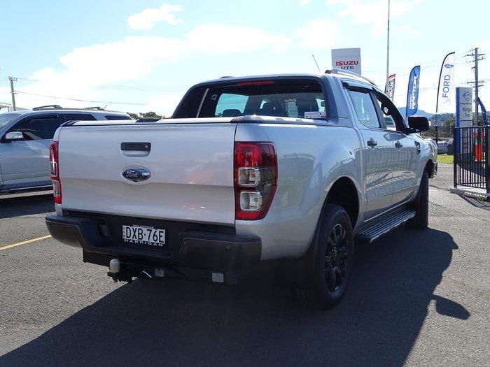 2018 Ford Ranger Wildtrak PX MkII MY18 4X4 Dual Range Silver