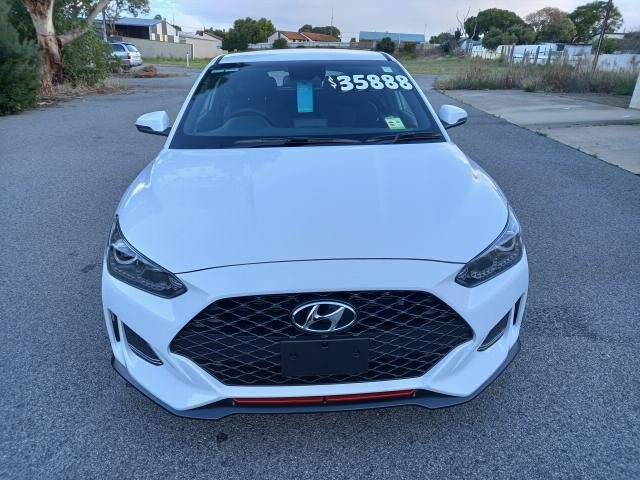 2019 Hyundai VELOSTER 2020 Hyundai JS VELOSTER COUPE TURBO 1.6P DCT CHALK WHITE