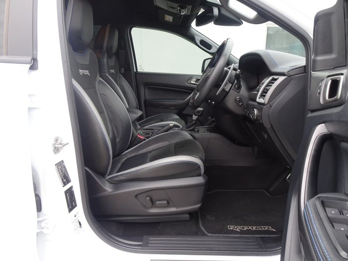 2018 Ford Ranger Raptor PX MkIII MY19 4X4 Dual Range Frozen White