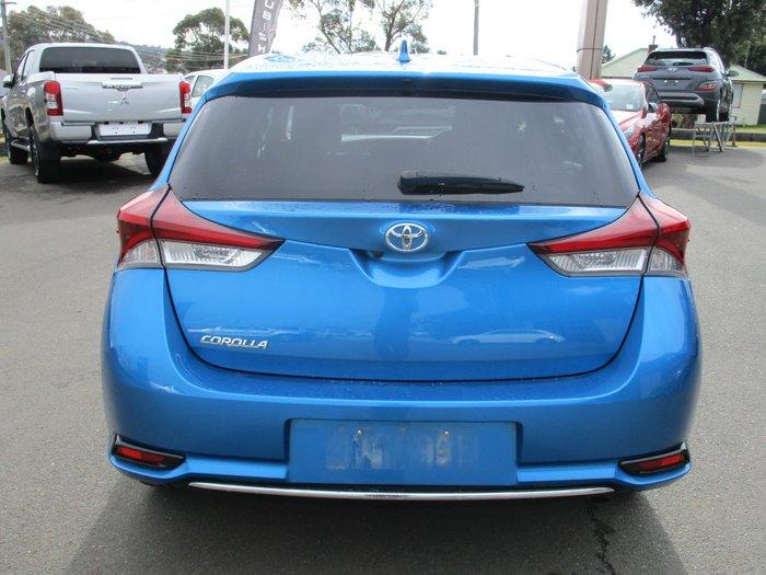 2017 Toyota Corolla Ascent Sport ZRE182R Blue Gem
