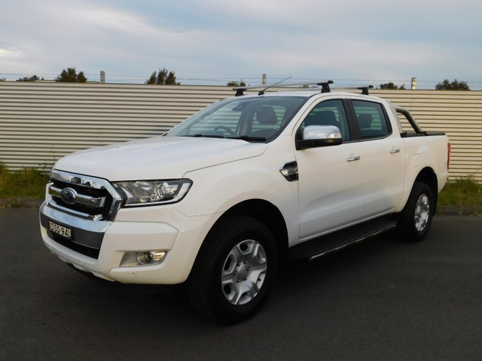 2017 Ford Ranger XLT (4x4)DUAL DT5 PX MKII MY17 White
