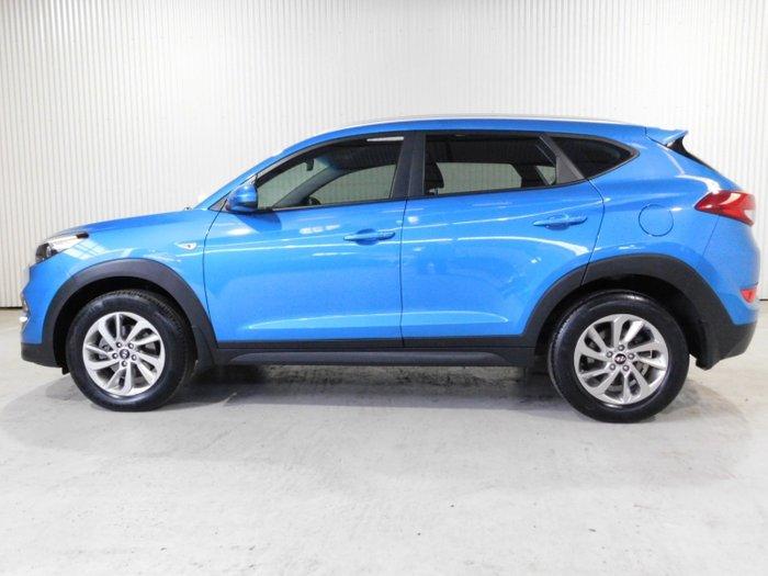 2017 Hyundai Tucson 218 ACTIVE (FWD) TL2 MY18 Blue