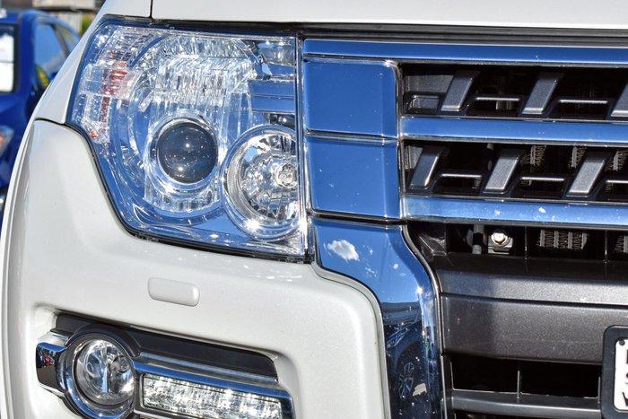 2018 Mitsubishi Pajero Exceed NX MY19 4X4 Dual Range Warm White