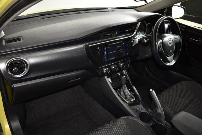 2017 Toyota Corolla Ascent Sport ZRE182R Yellow