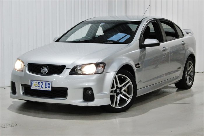 2012 Holden Commodore SS Z Series VE Series II MY12.5 Silver