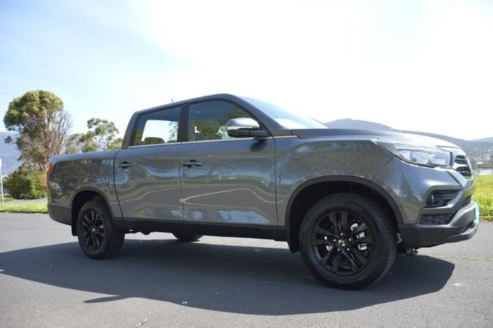 2020 SsangYong Musso Ultimate Q200 MY20.5 4X4 Dual Range Marble Grey