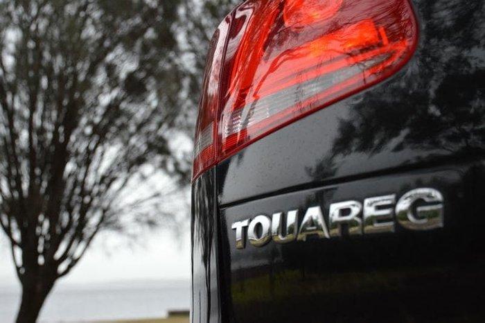 2012 Volkswagen Touareg 150TDI 7P MY12.5 Four Wheel Drive Deep Black