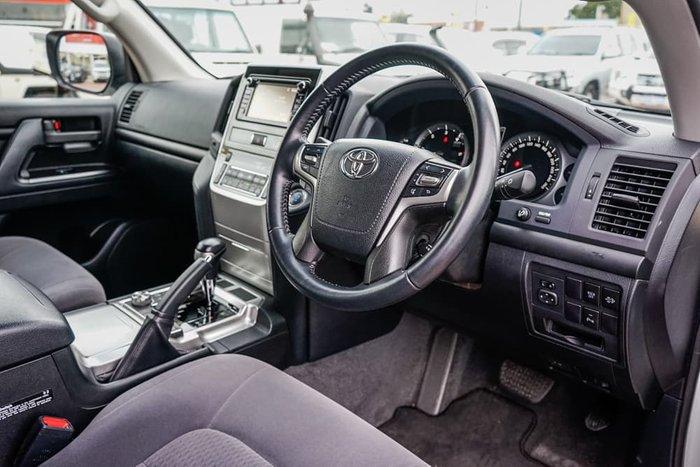 2018 Toyota Landcruiser GXL VDJ200R 4X4 Dual Range Glacier White