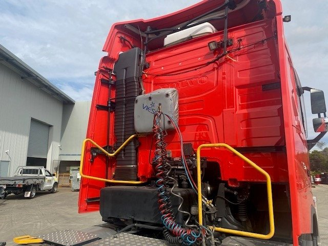 2016 Volvo FH13 FH 540 Red