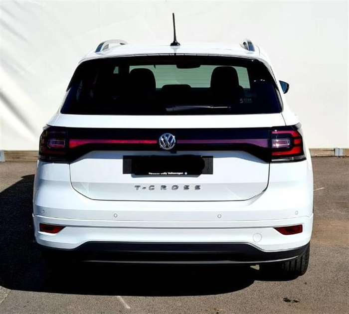 2021 Volkswagen T-Cross 85TSI Style C1 MY21 White