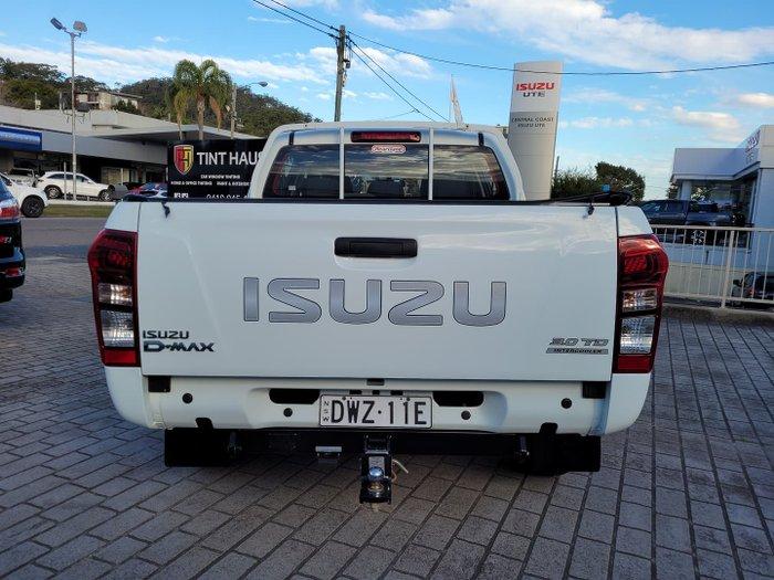 2014 Isuzu D-MAX LS-M MY14 4X4 Dual Range Splash White