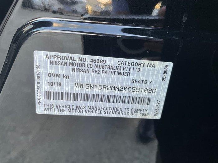 2019 Nissan Pathfinder ST R52 Series III MY19 Black