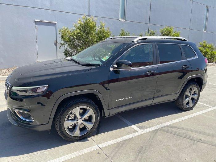 2020 Jeep Cherokee Limited KL MY21 4X4 On Demand Black