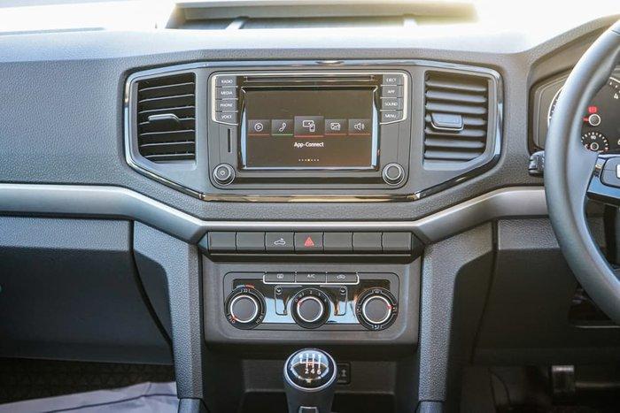 2018 Volkswagen Amarok TDI400 Core 2H MY19 4X4 Dual Range Candy White