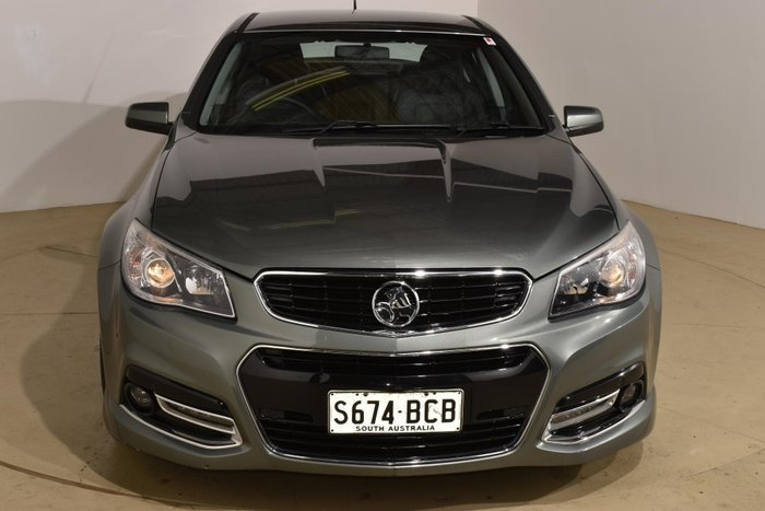 2014 Holden Commodore SS V VF MY14 Prussian Steel