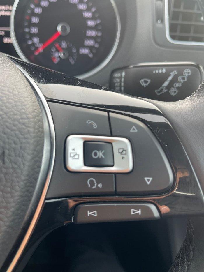 2016 Volkswagen Polo 81TSI Comfortline 6R MY17 White