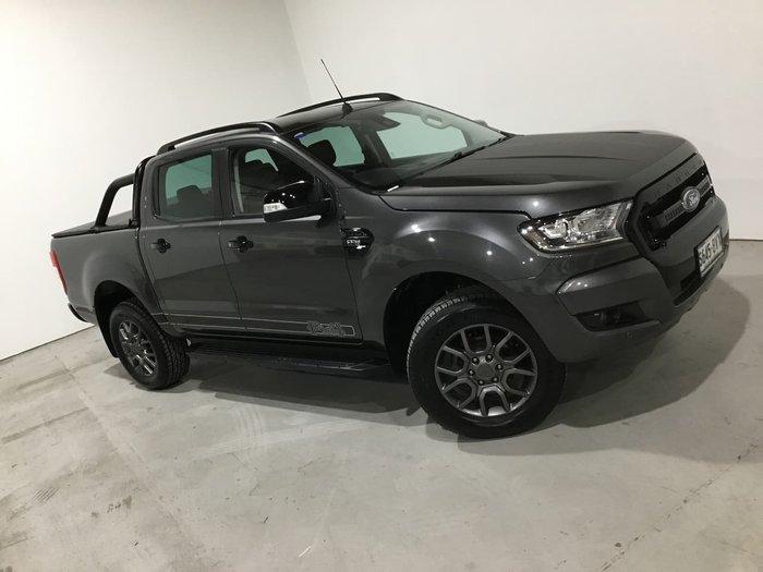 2018 Ford Ranger FX4 PX MkII MY18 4X4 Dual Range Grey