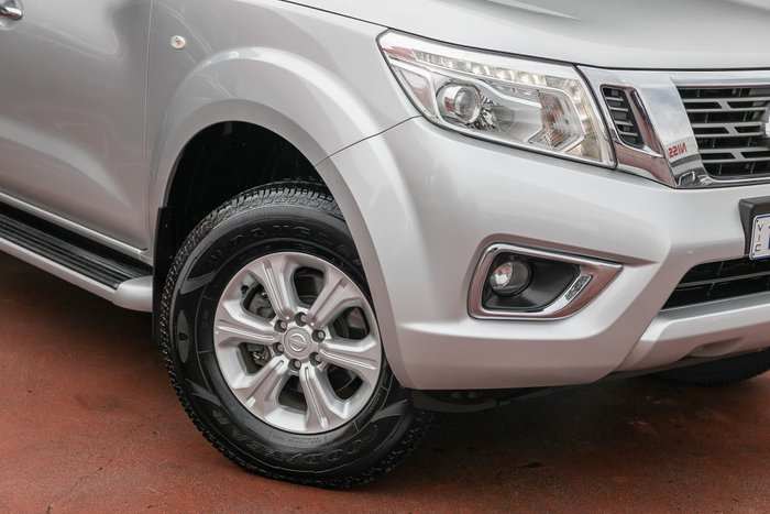 2016 Nissan Navara ST D23 Brilliant Silver