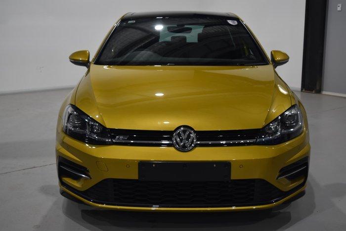 2017 Volkswagen Golf 110TSI Highline 7.5 MY18 Turmeric Yellow