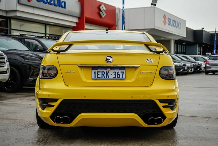 2012 Holden Special Vehicles GTS E Series 3 MY12 Yellow
