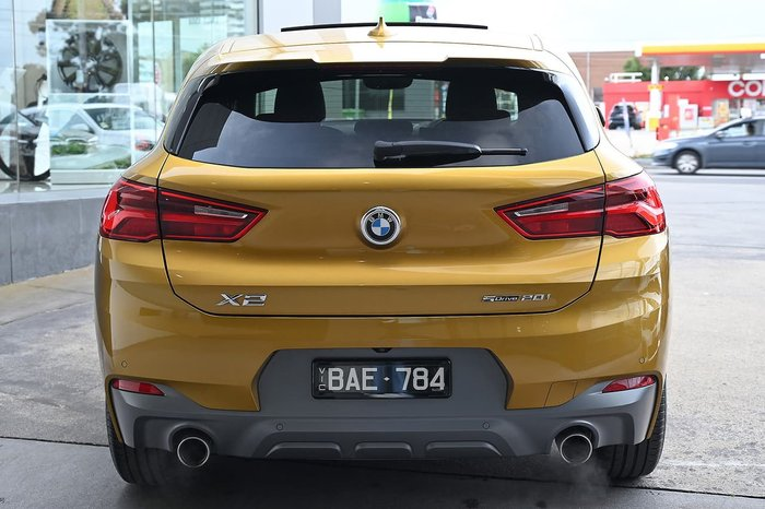 2017 BMW X2 sDrive20i M Sport X F39 Gold