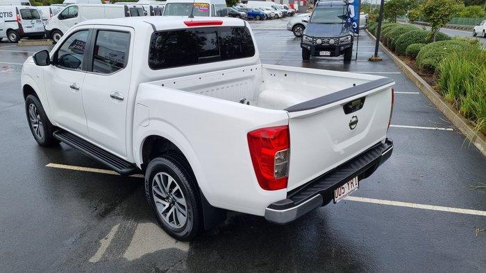 2018 Nissan Navara RX D23 Series 3 4X4 Dual Range Polar White