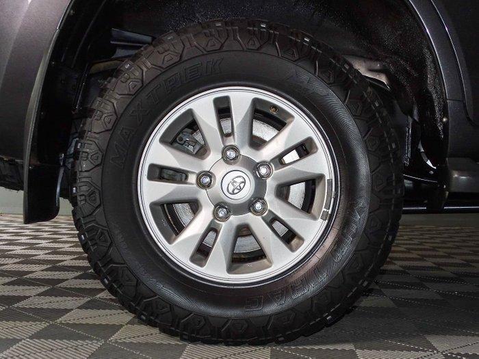 2008 Toyota Landcruiser GXL VDJ200R 4X4 Constant Graphite